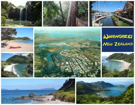 Whangarei postcards